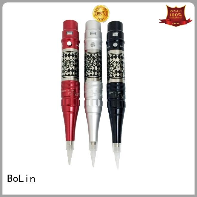 BoLin professional cartridge tattoo machine supplier for eyeliner