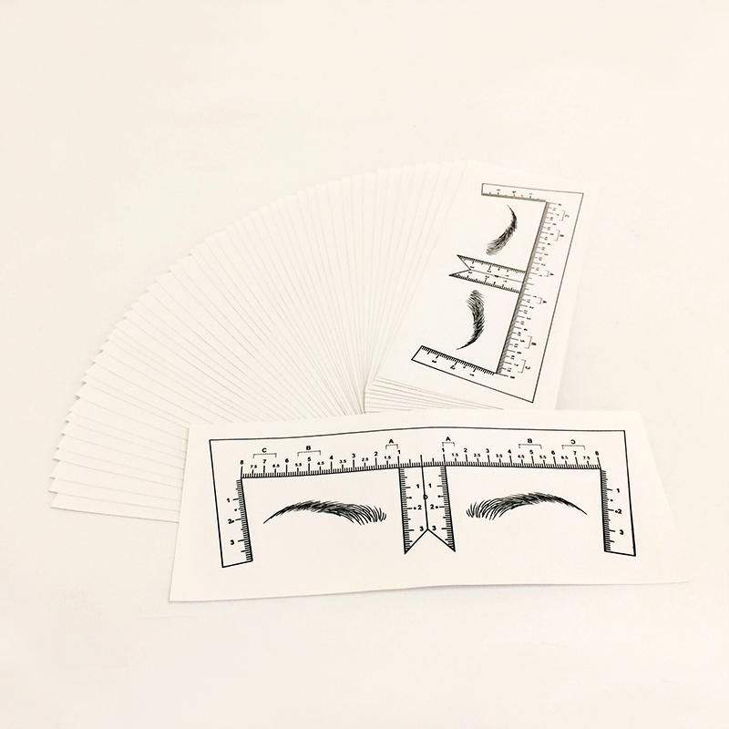 BoLin-eyebrow measurement ruler,best tattoo practice skin | BoLin-1