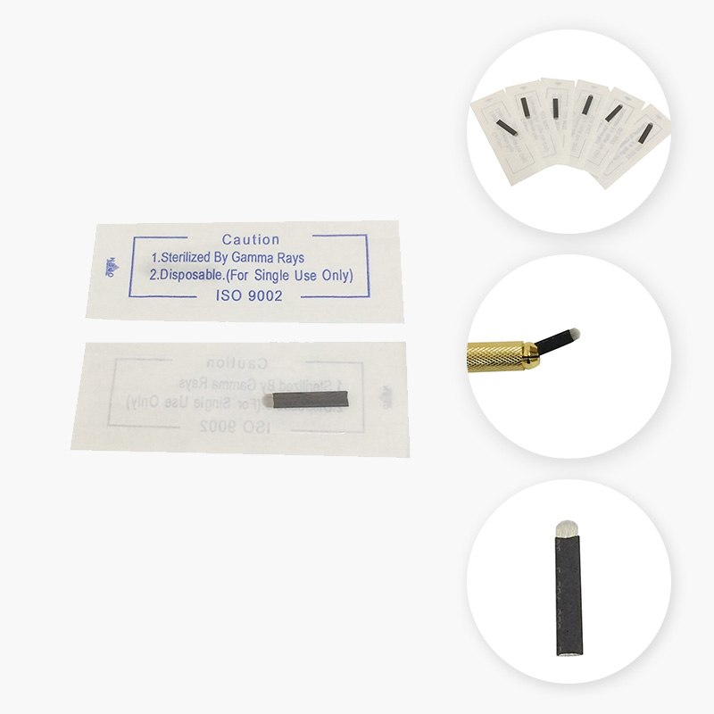 BoLin-Tattoo Needle Cartridges Black Disposable Permanent Makeup Needle-1