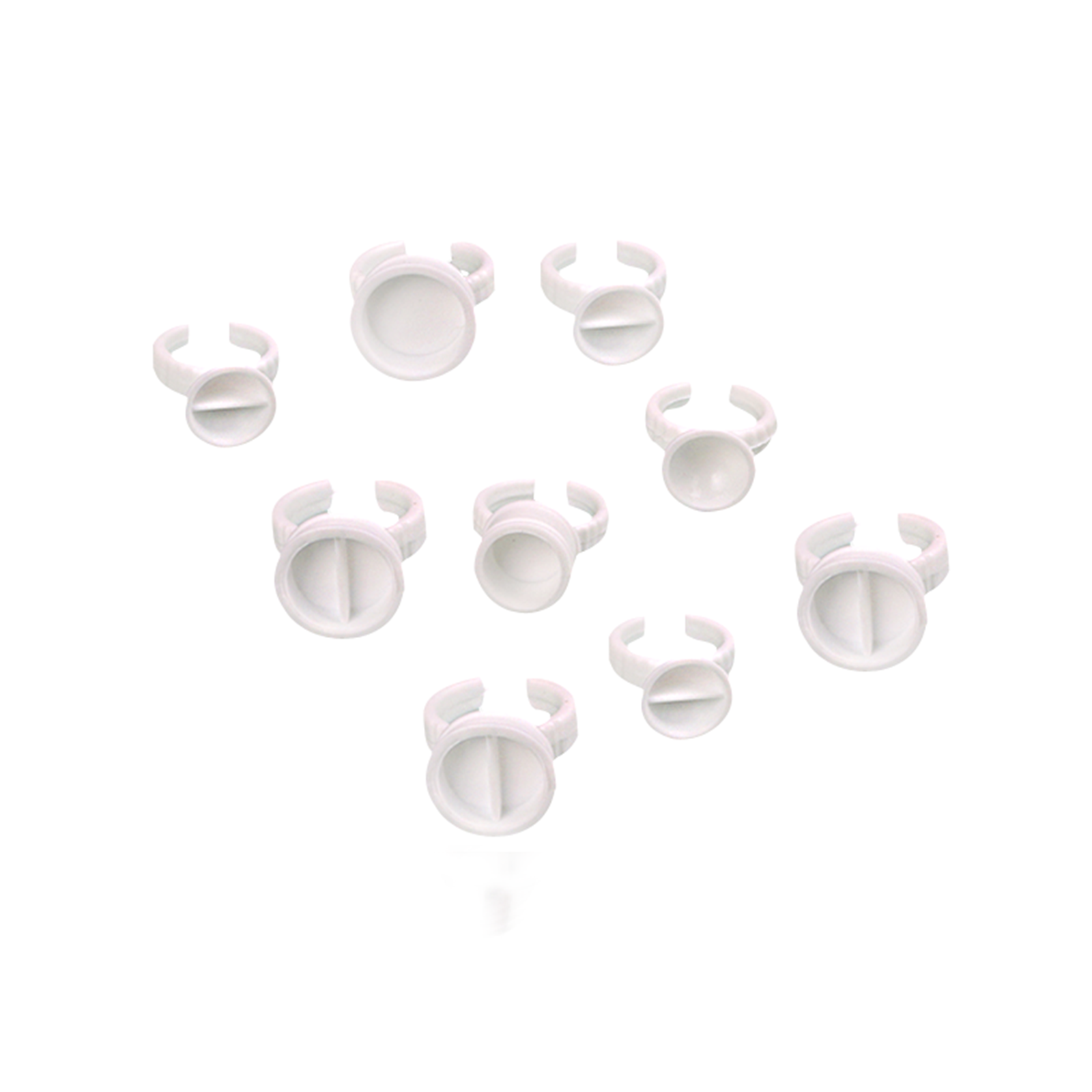 BoLin-Microblading Tool | Plastic Ink Ring Cups For Tattoo Bl-00092 - Bolin Cosmetic-4