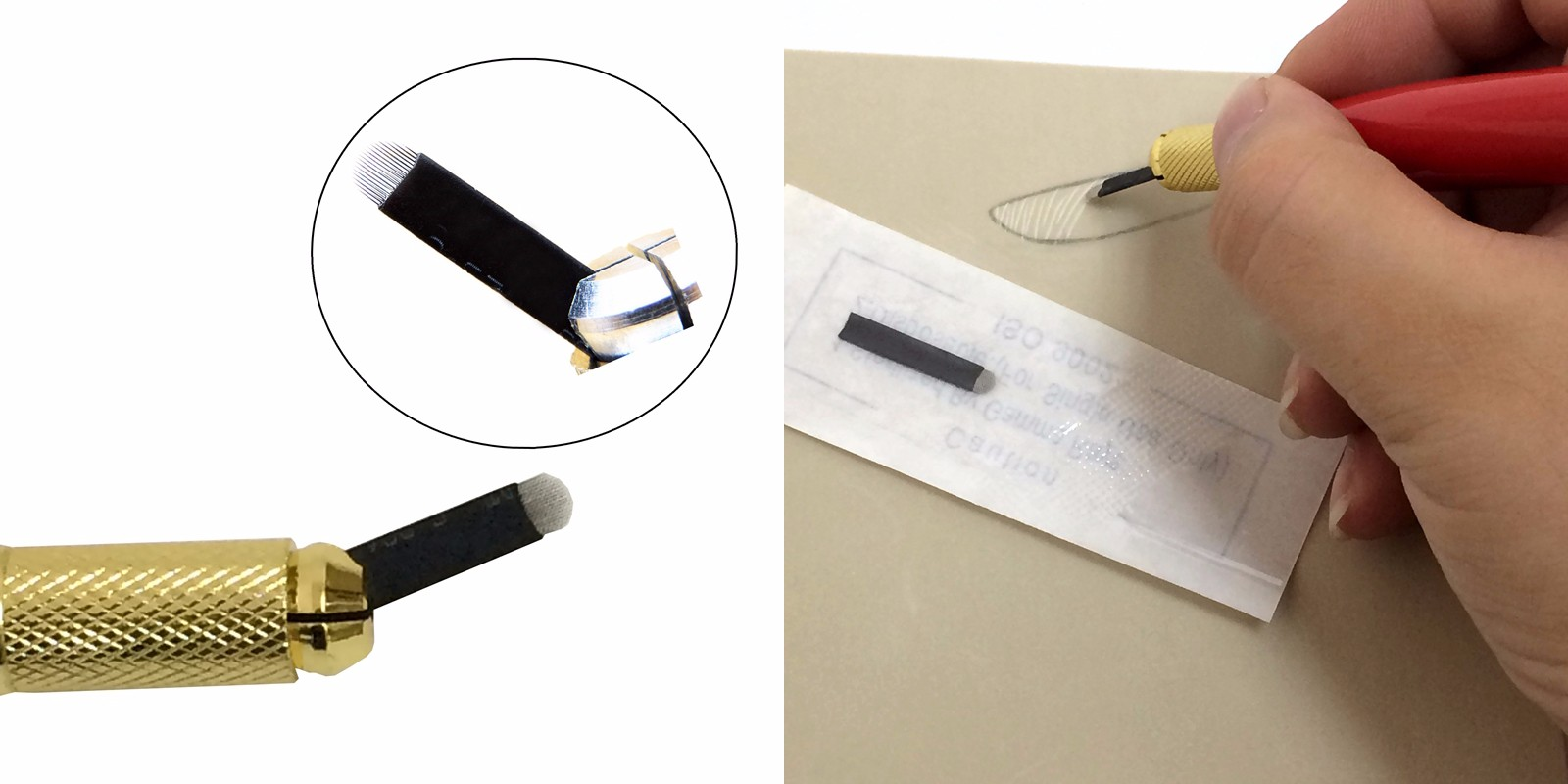 BoLin-Tattoo Needle Cartridges Black Disposable Permanent Makeup Needle-2