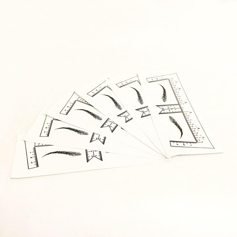 Disposable Eyebrow Ruler Stickers BL-00303