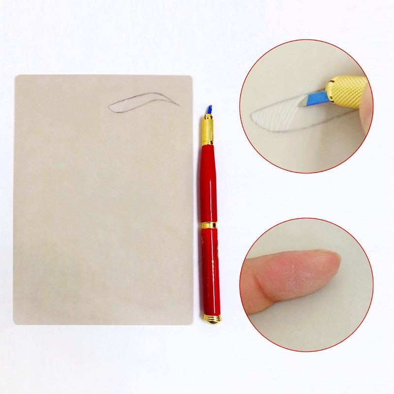 Beginner Permanent Makeup Blank Rubber Practice Skin BL-00114  0001