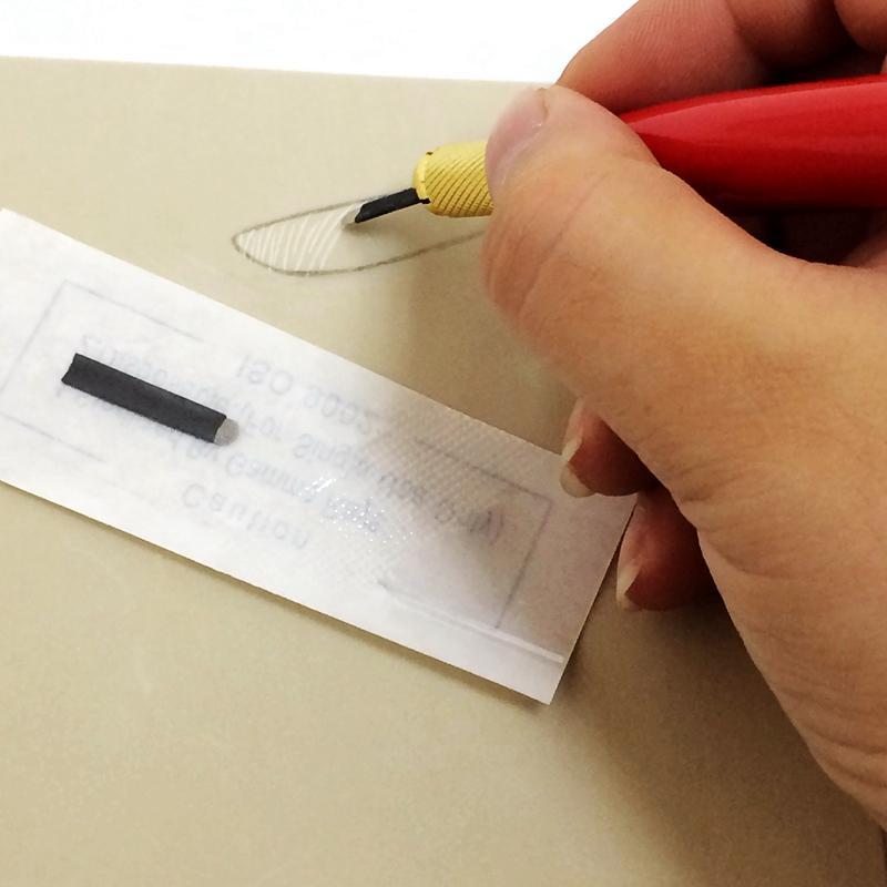 Black Disposable Permanent Makeup Microblading Needle U18BL-00085