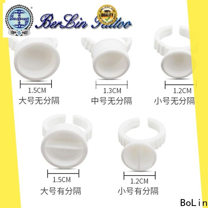BoLin secure tattoo ink cups promotion for beauty shop