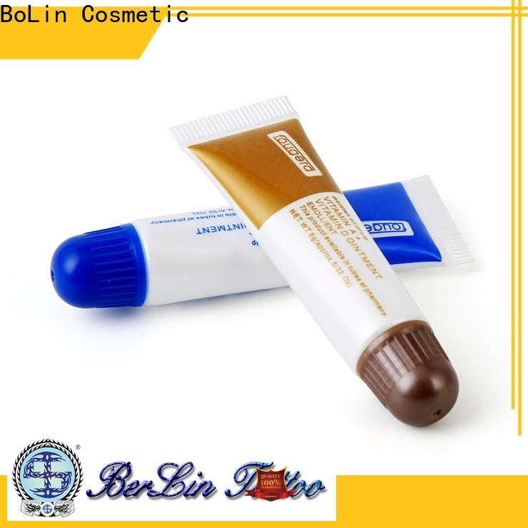 BoLin comfortable tattoo aftercare cream from China for tattoo workshop