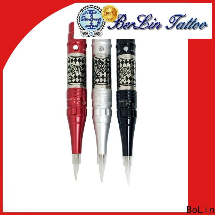 BoLin low noise cartridge tattoo machine supplier for eyeliner