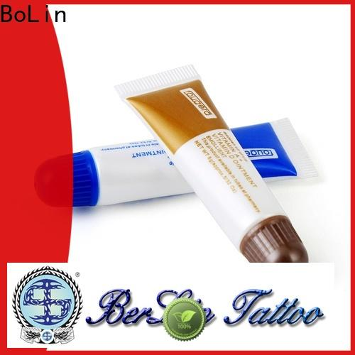 BoLin good quality tattoo aftercare cream directly price for tattoo workshop