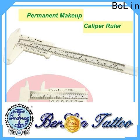 safe eyebrow measurement ruler manufacturer for training school