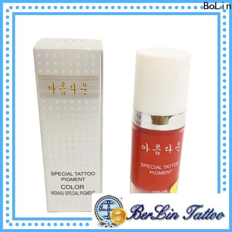 BoLin stable pigment makeup factory price for eyebrow