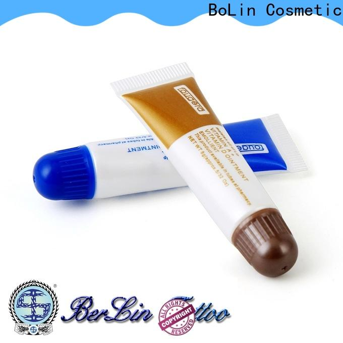 BoLin tattoo aftercare cream promotion for beauty academy