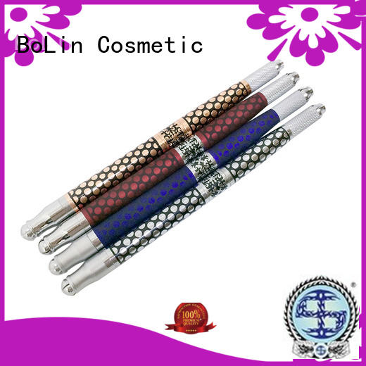 BoLin Brand two multifunctional manual tattoo pen aluminium factory