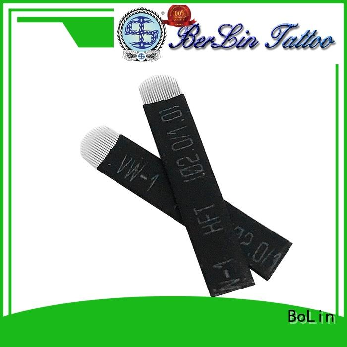 BoLin high quality tattoo needles supplier for training school