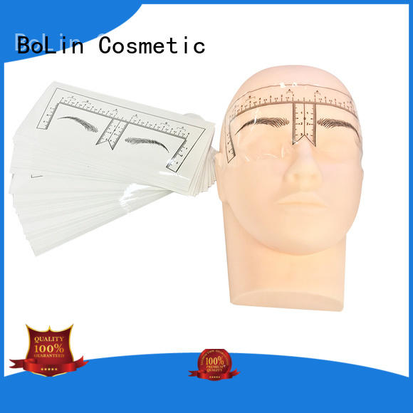 eyebrow measuring device makeup lip BoLin Brand company