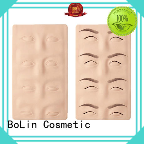 silicone practice skin tattoo on sale for beauty school BoLin