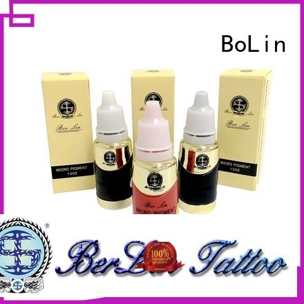 BoLin microblading pigments wholesale for small tattoo