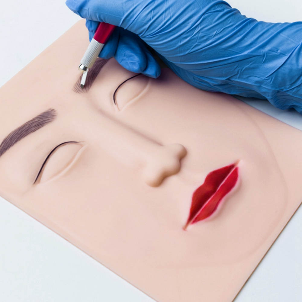 BoLin-Tattoo Practice Skin Manufacture | 3d Silicone Face Practice Skin Bl-00249-1