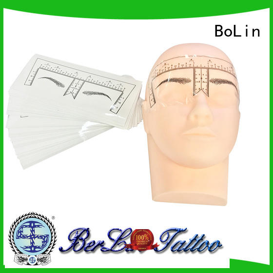 BoLin safe microblading practice skin promotion for beauty school