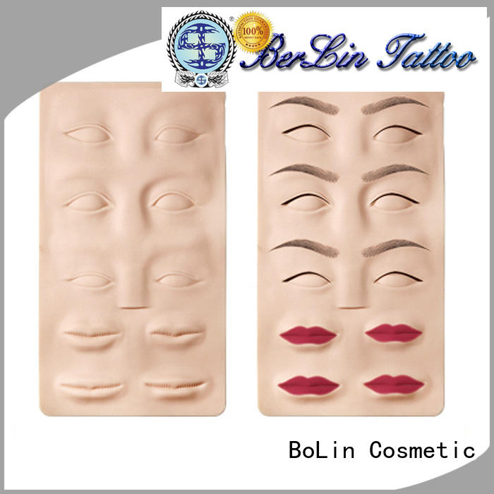 BoLin lip practice skin tattoo directly price for training school