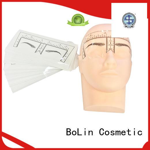 oft eyebrow measuring device eyeliner BoLin company