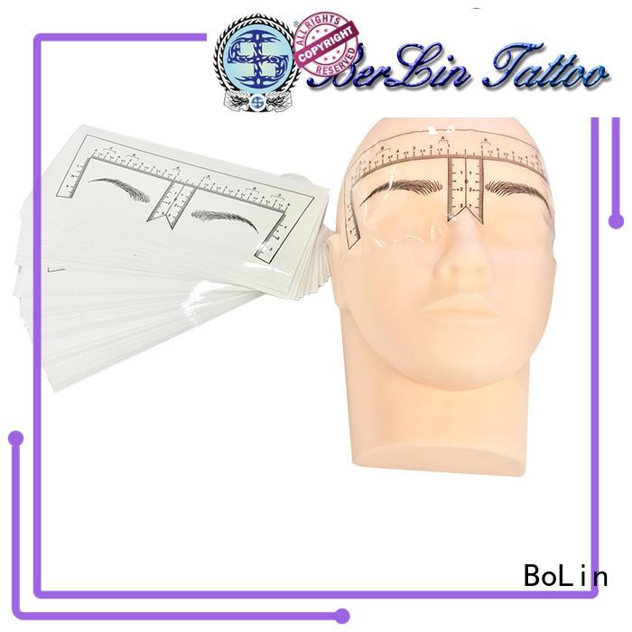 BoLin eyebrow measuring tool on sale for tattoo learners
