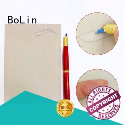 BoLin Brand permanent oft tattoo practice skin skin factory