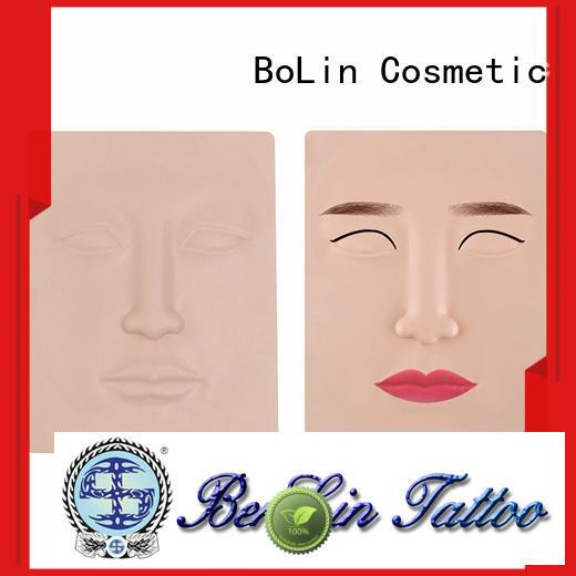 BoLin skin microblading practice skin directly price for training school