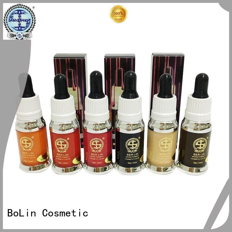 BoLin Brand eyebrows quality cosmetic pigments