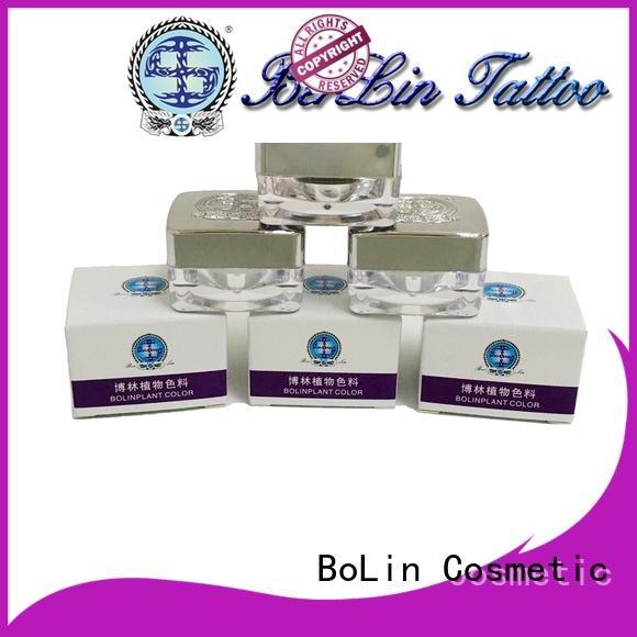 BoLin semi pigment powder manufacturer for lip