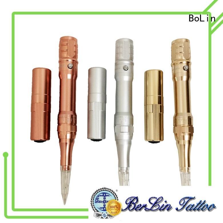 BoLin wireless handmade tattoo machine supplier for eyebrow