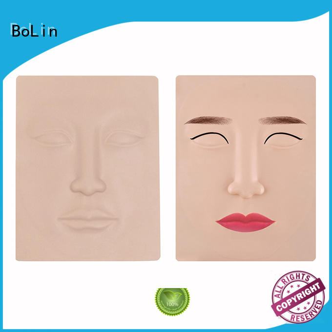 makeup face oft tattoo practice skin silicone BoLin Brand