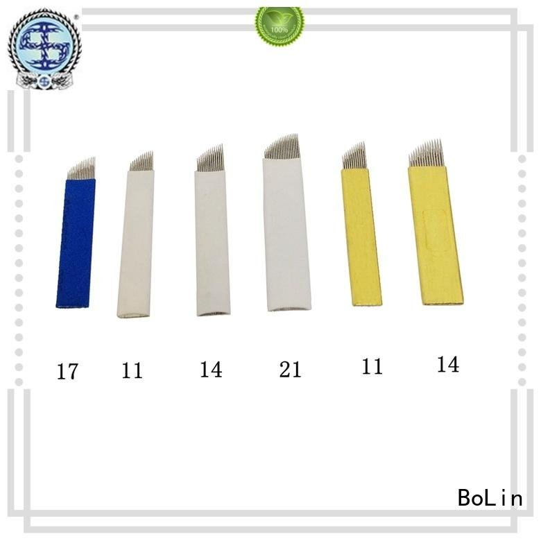 disposable tattoo needles supplier for training school BoLin