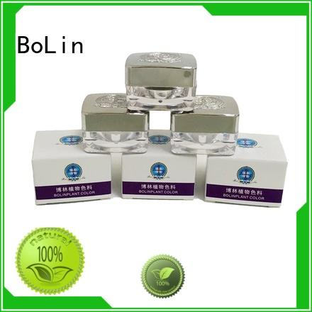 Custom quality pigment powder lip BoLin
