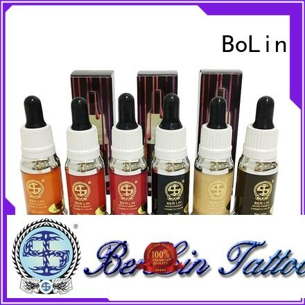 BoLin best quality pigment makeup wholesale for lip