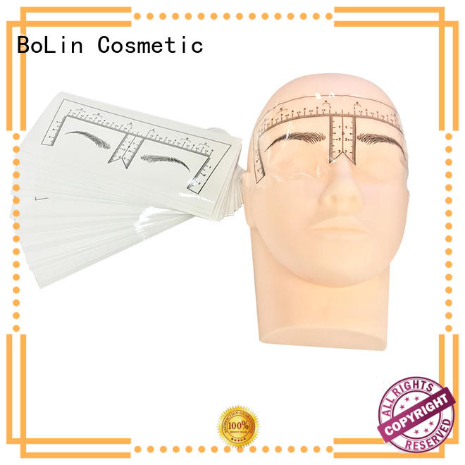 good quality eyebrow measurement ruler promotion for beauty school