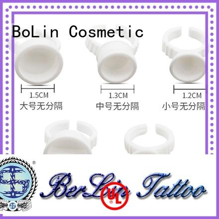 BoLin pure tattoo ink cups promotion for salon