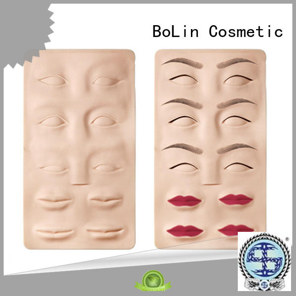 lip carved beginner tattoo practice skin permanent BoLin