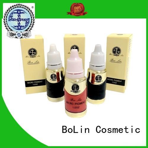 microblading pigment powder plant quality BoLin company