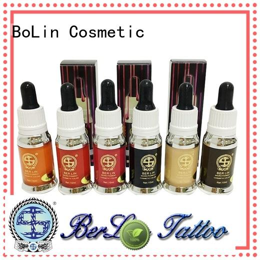 BoLin pure pigment tattoo manufacturer for MTS