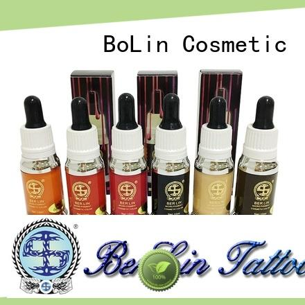 BoLin pigment ink wholesale for small tattoo