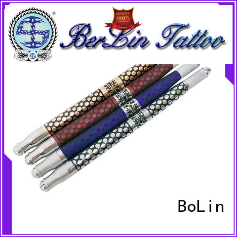 BoLin comfortable manual tattoo pen from China for beauty academy