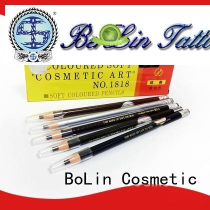 long lasting tattoo eyebrow pencils bl168 manufacturer for training school
