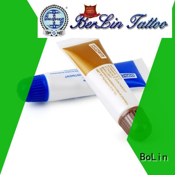 BoLin healthy tattoo aftercare promotion for training school