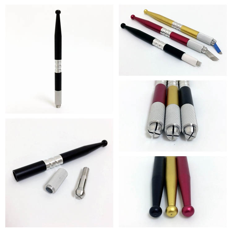 BoLin-Eyebrow Tattoo Pen Manufacturer Colorful Microblading Manual Pen-1