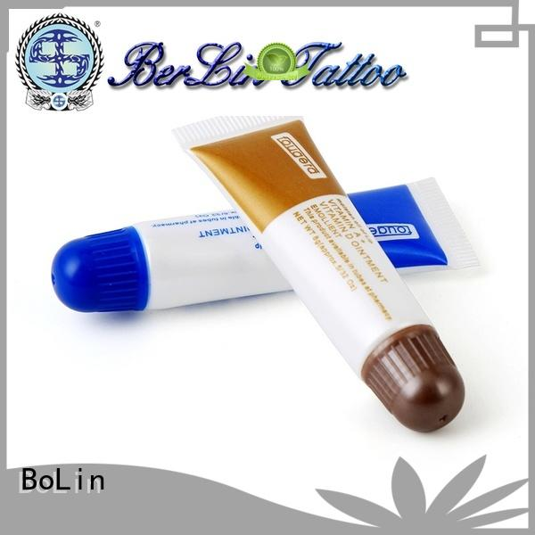 BoLin safe tattoo aftercare cream promotion for beauty academy