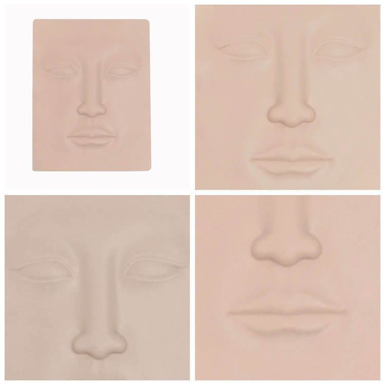 BoLin-Tattoo Practice Skin Manufacture | 3d Silicone Face Practice Skin Bl-00249-2