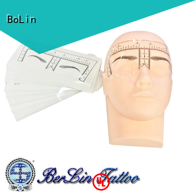BoLin good quality microblading practice skin directly price for beauty school