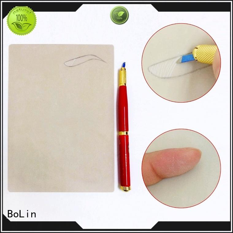 eyebrow measuring device silicone Bulk Buy stickers BoLin