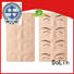 BoLin Brand rubber eyeliner custom eyebrow measuring device