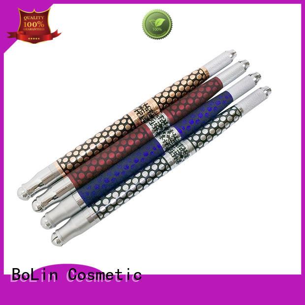aluminium alloy durable manual tattoo pen BoLin Brand company
